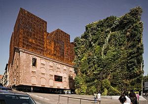 Español: Edificio CaixaForum de Madrid, rehabi...