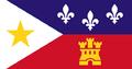 Cajun flag Drapeau cadjen.png