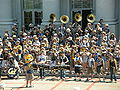Cal Band at Cal Day 2010 spirit rally 5.JPG