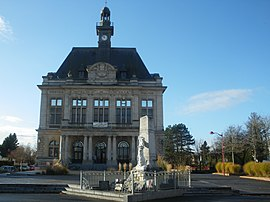 The town hall of Calonne-Ricouart