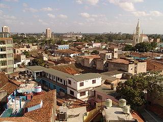 Camagüey City in Cuba