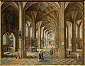 Cambrai musee steenwyck interieur eglise.JPG