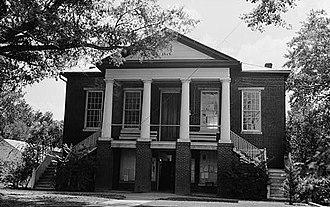 Camden County, North Carolina - Image: Camden County Courthouse, NC Route 343, Camden (Camden County, North Carolina)