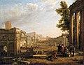 Campo Vaccino, Claudio de Lorena, 1636.jpg