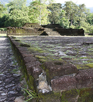 Built in 6th century A.D, Candi Bukit Batu Pah...