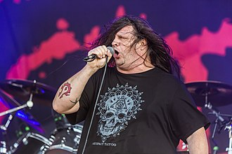 Cannibal Corpse - Image: Cannibal Corpse Rockharz 2018 13