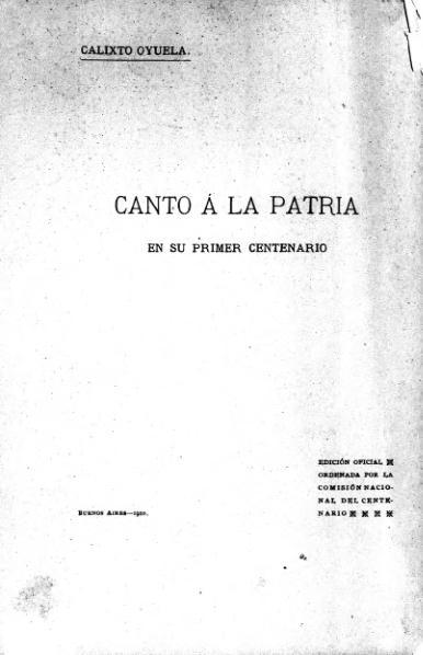 File:Canto a la patria en su primer centenario.djvu