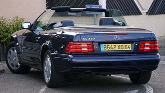 Mercedes-Benz SL-Class - Mercedes-Benz SL 320 (France)