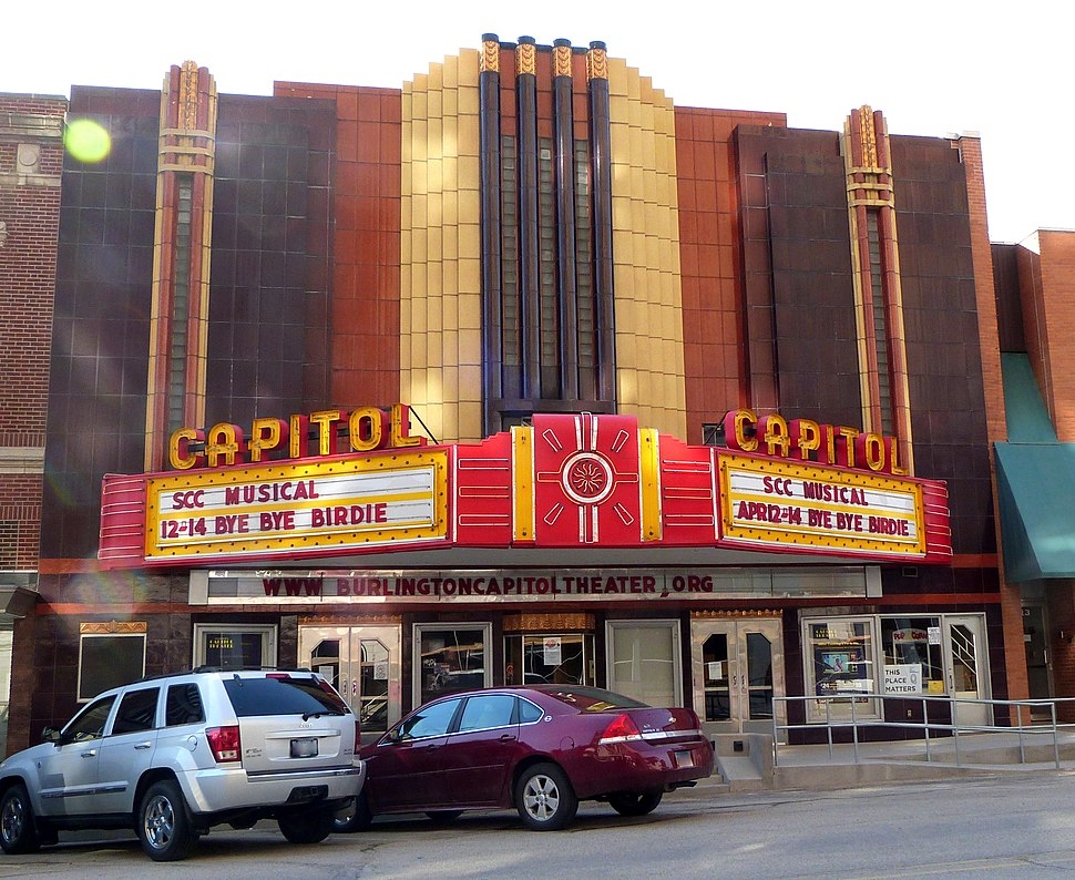 Capitol Theater - Burlington Iowa