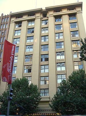 Capitol Theatre, Melbourne - Capitol Theatre, Swanston Street facade