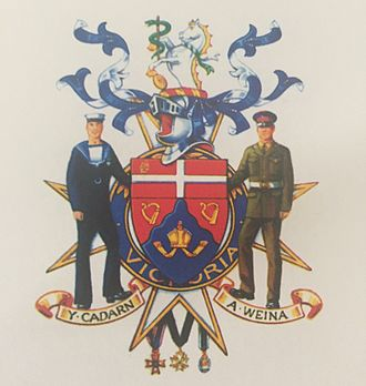 Norman Lloyd-Edwards - Captain Sir Norman Lloyd-Edwards coat of arms