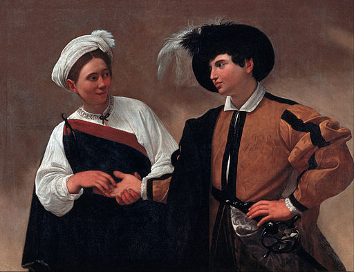 """The Fortune Teller"" by Caravaggio"