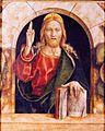 Carlo crivelli, cristo benedicente.jpg