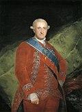 Carlos IV de rojo