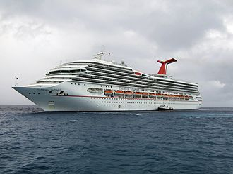 Destiny-class cruise ship - Image: Carnival Triumph Half Moon Cay
