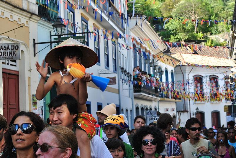 Blocos em Ouro Preto