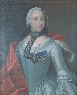 Countess Caroline of Erbach-Fürstenau - Image: Caroline of Erbach Fürstenau duchess of Saxe Hildburghausen