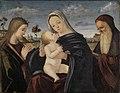 Carpaccio - Maria mit dem Kind und den Heiligen Katharina und Hieronymus, 1508.jpg