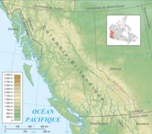 Géographie de la Colombie Britannique — Wikipédia