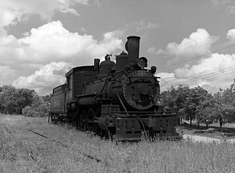 Cassville, Missouri - Locomotive for the old Cassville and Exeter Railroad