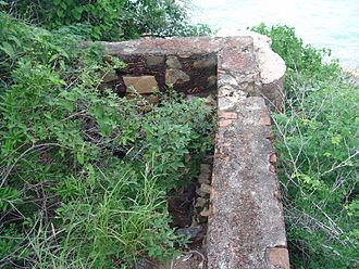 """Pedro de Alvarado - The remains of the """"Castillo de Alvarado"""", Chamela, Jalisco."""