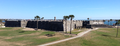 Castillo De San Marcos from the west, February 2012.png