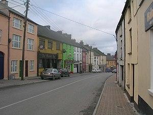 Castleblayney - Muckno Street in Castleblayney town centre
