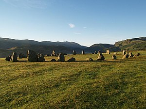 History of Cumbria - Castlerigg Stone Circle