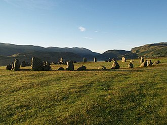 History of Cumbria - Castlerigg Stone Circle