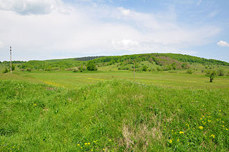 Angustia (castra) - Panoramic view