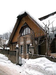 Villa Fallet House by Le Corbusier in La Chaux-de-Fonds, Switzerland