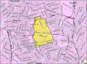 Census Bureau map of Elmwood Park, New Jersey.png