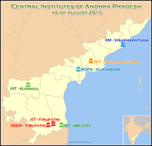 List of institutions of higher education in Andhra Pradesh - Wikipedia