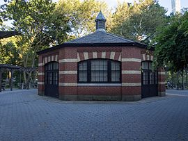 Central Park Chess and Checkers House 2