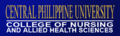 Central Philippine University College of Nursing and Allied Health Sciences Banner (Official).png
