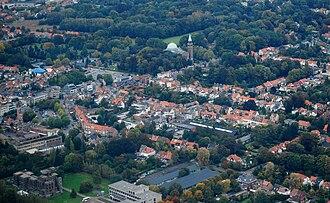 Edegem - Image: Centre Edegem, Belgium (Aerial view)