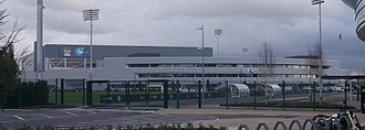 Manchester City F.C. - Manchester City moved into their new complex at the Etihad Campus adjacent to the City of Manchester Stadium in 2014.