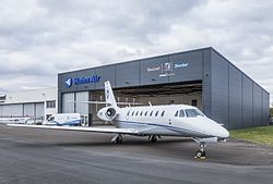 Cessna Citation Sovereign der Hahn Air Lines