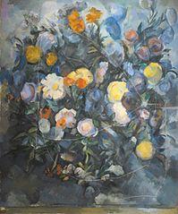 Bouquet de fleurs, d'après Delacroix