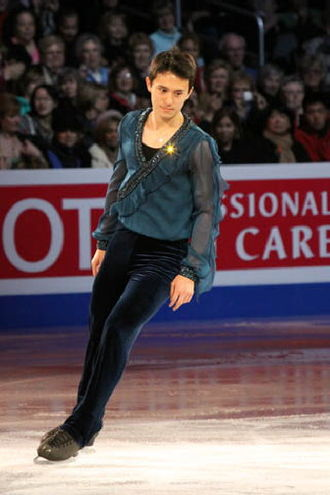 Patrick Chan - Chan during his exhibition at the 2009 World Championships