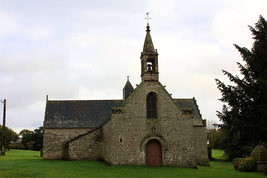Chapelle Sainte-Anne (Buléon): vue générale depuis l'ouest