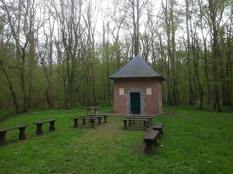 Chapelle Notre Dame de Bon Secours - Bois-l'Évêque (forêt) - Commune d'Ors - Département du Nord