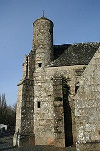 Chapelle de Locmaria - Belle-Isle-en-Terre - Tourelle.jpg
