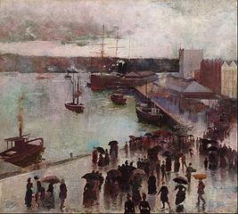 Departure of the Orient - Circular Quay
