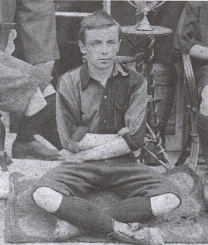 Charles William Miller - Miller in the St Mary's side of 1893-94.