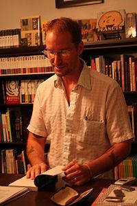 Charlie Huston Reading comocs.jpg