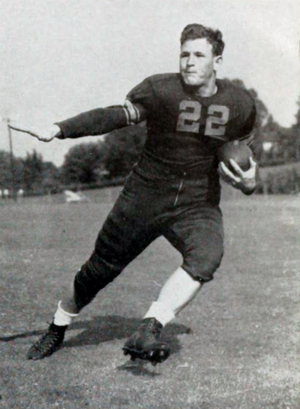 Charlie Timmons - Timmons at Clemson in 1941