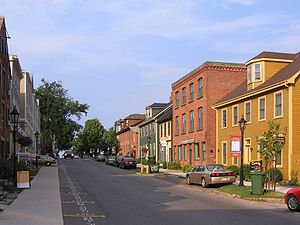 Charlottetown - Streetscape on Water Street.