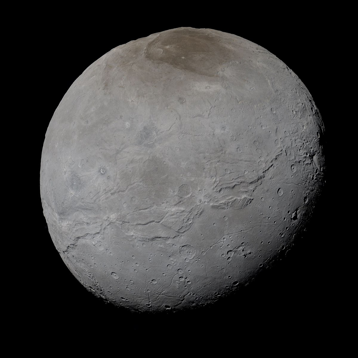 Discovery Of Pluto: Charon (moon)