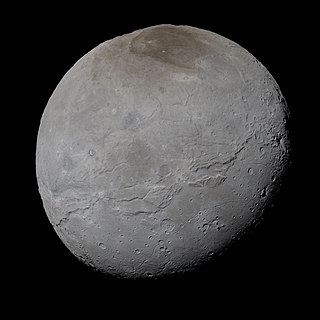 Charon (moon) largest natural satellite of the dwarf planet Pluto